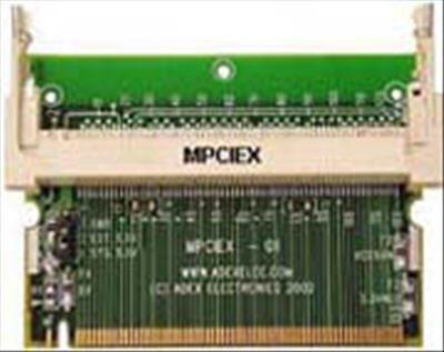 Mini-PCIからMini-PCIストレートエクステンダー。
