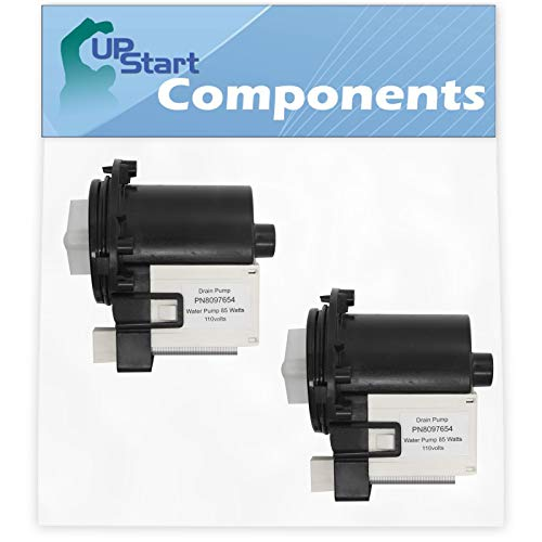 2-Pack DC31-00054A Washer Drain Pump Replacement for Samsung WF448AAP/XAA-0000 Washing Machine - Compatible with DC31-00054A Water Pump - UpStart Components Brand