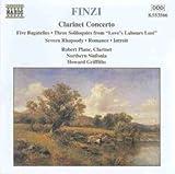 Finzi: Clarinet Concerto / Five Bagatelles / 3 Soliloquies / Severn Rhapsody / Romance / Introit - Robert Plane