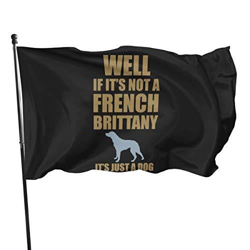 Generic Brands - Bandera de Bretaña francesa, 3 x 5 pies