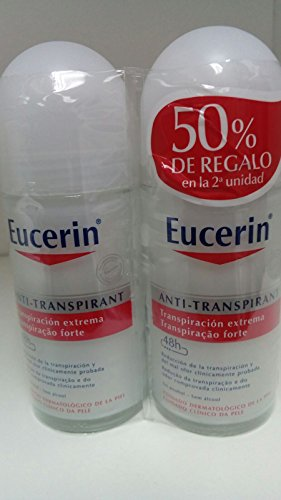 Eucerin anti-transpirant 48H Duplo 50ml + 50ml