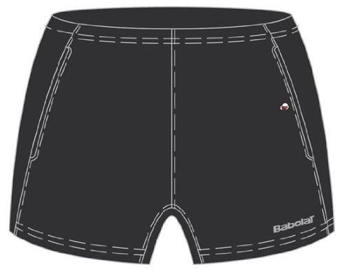 Babolat Club Line–Pantalones de Tenis para Mujer, Color - Negro, tamaño Mediano