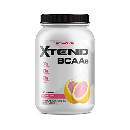 XTEND Original BCAA Powder Pink Lemonade | Branched Chain Amino Acids Supplement | 7g BCAAs + Electrolytes for Recovery & Hydration | 90 Servings