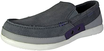 Crocs Mens Walu Accent Suede Loafer