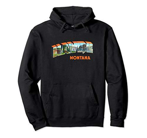 Havre Montana MT Vintage Retro-Souvenir Pullover Hoodie