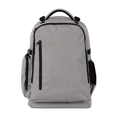 Tbaobei-Baby Camera Rucksack Camera Backpack Water Resistant Nylon Multipurpose Bag For Canon Nikon Fuji And Other Cameras Laptop Ipad (Color : Gray)