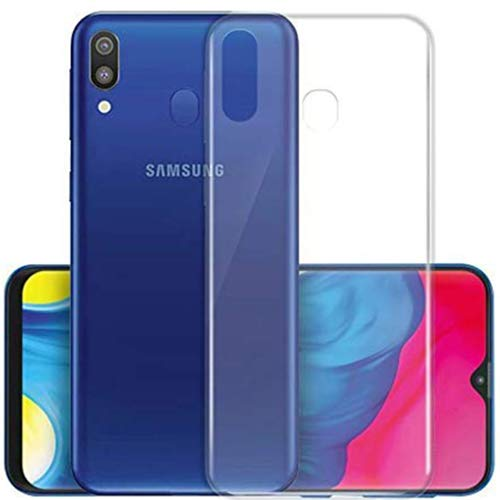 CaseRepublic Transparent Back Cover for Samsung Galaxy M20