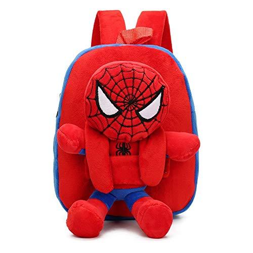 Appiu Kindergarten baby boy cartoon school bag plush toy snack small backpack preschool toy backpack (Color : 1)
