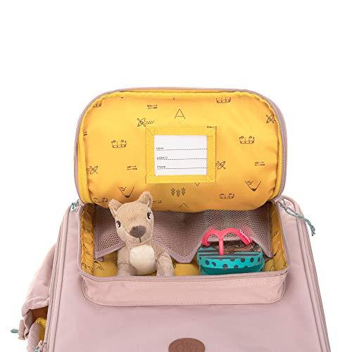 LÄSSIG Kinder Trolley Kindergepäck Reisekoffer mit Packriemen und Rollen ab 3 Jahre/Kids Trolley, Adventure Tipi
