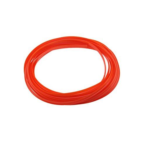WINOMO Modanature Decorative Auto Rifiniture Striscia per Decorazione Interno Esterno Auto 5 Metri (Arancione)