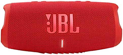 JBL CHARGE 5 - Portable Bluetooth Speaker with IP67 Waterproof and USB Charge out - Red