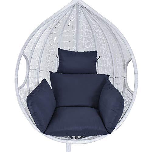 Cojín para silla colgante de balancín Swing individual cojines tumbona acolchado cojín...