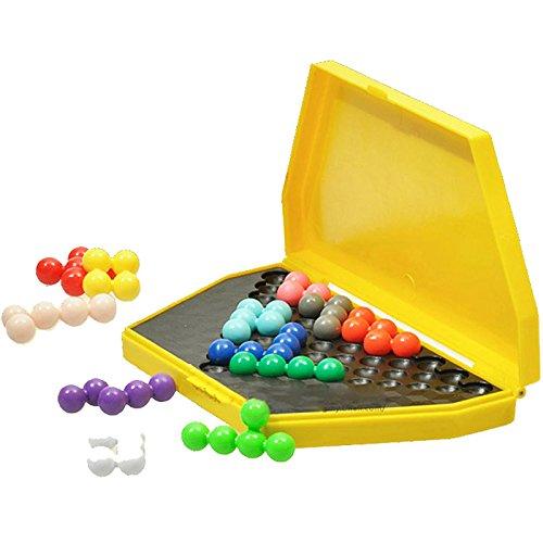 Perlen-Puzzle-Spiel für Kinder und Erwachsene von Youmiya, klassisches IQ-Logikpuzzle für Kinder, Gedächtnistraining