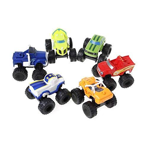 ATING 6X Blaze und die Monster Toy Machines Fahrzeuge...