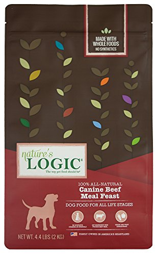 Nature'S Logic Canine Beef Meal Feast, 4.4Lb