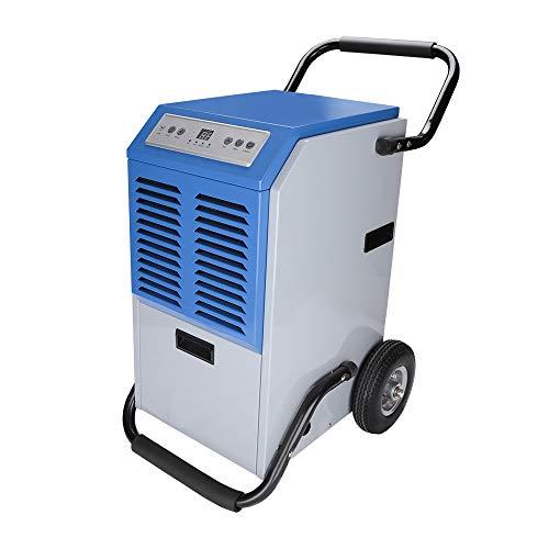 Hengda Luftentfeuchter bis zu 60L/Tag tragbarer Raumentfeuchter Raumgröße bis zu 100 m²Smart Auto-Funktion