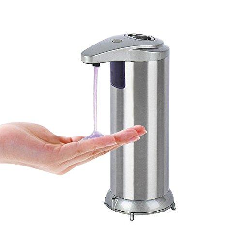hotel mani libere senza contatto da 600 ml con misurino servizi igienici cucina distributore di sapone per bagno Dispenser di sapone automatico ufficio