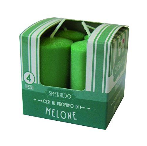 Cereria de Giorgio Melrose ceretti perfumadas, Cera, Verde, 3x 3x 5.5cm