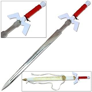 Legend of Zelda Noble Goddess White Medieval Master Stainless Steel Sword Replica