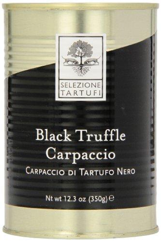 Selezione Tartufi Black Summer Truffle Carpaccio,12.34-Ounce Unit