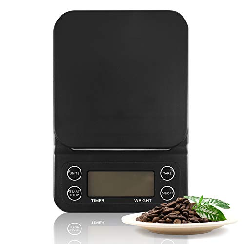 Digital Coffee Scale With Timer for Pour Over and Drip Coffee