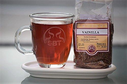 SABOREATE Y CAFE THE FLAVOUR SHOP Té Rooibos Vainilla En Hoja Hebra A Granel Infusión Natural Isotónica Adelgazante 100 gr