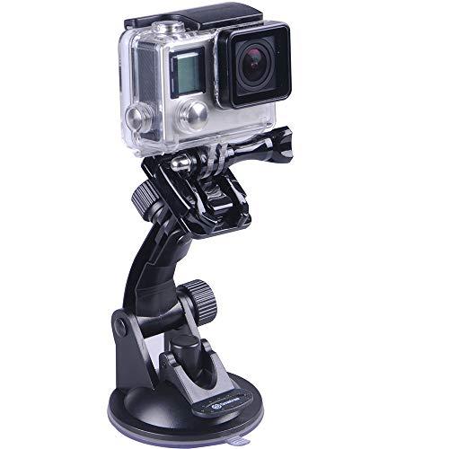 Smatree - Soporte de Ventosa para GoPro Hero 8/7/6/5/4/3/2/1/Session/DJI OSMO Action