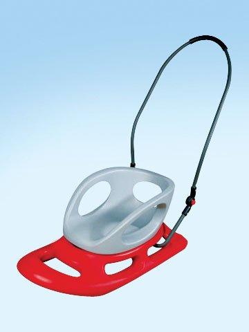 Flexible Flyer Portable Snow Stroller Baby Sled. Toddler Boggan Infant Sleigh