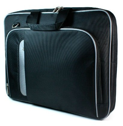 """- New Black Laptop Case Airport Check-Point-Friendly Bag for 13"""" 13.3"""" Acer Aspire TimelineX AS3820T-7459 {+ 1pc name tag} -- Best Seller on Amazon!"""