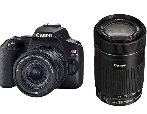 Kit Premium Canon EOS Rebel SL3 4K + Lentes