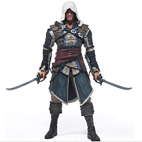 YXCC McFarlane Assassin's Creed 4 Black Flag Edward Kenway Action Figure Connor da 6 Pollici