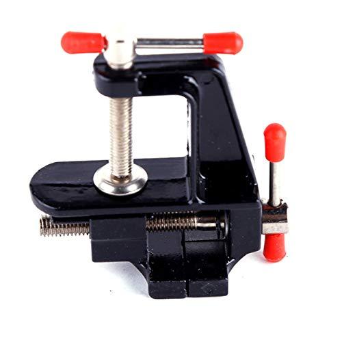 DBSUFV Mini tornillo de banco compacto de aleación de aluminio, tornillo de banco de 35...