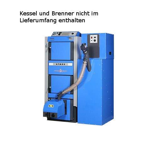 Preisvergleich Produktbild Atmos Platzsparsilo inkl. Förderschnecke 240 Liter - blau für A25 GSP
