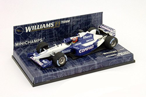 Minichamps 400020006 - Williams F1 Vehiculo Fw24 J. P. Montoya 2002 - Escala 1/43 - Vehiculo en Miniatura