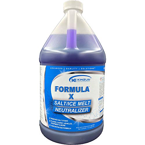 Formula X (128 oz)   Boat Salt Remover   for Boats, Vehicles, Equipment & More   Neutralizes, Prevents Corrosion   Concentrated Formula   Also Safe on Floors, Carpet & More