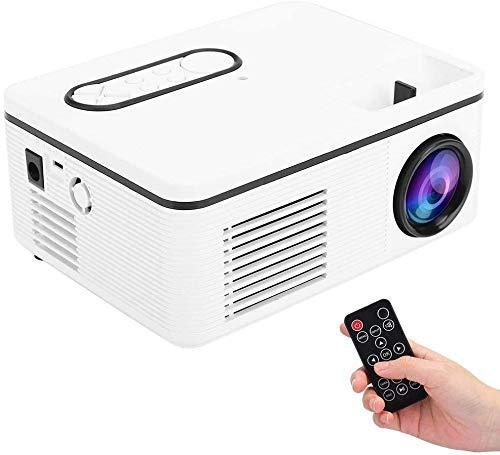 Mini proyector portátil 1080p llevó el proyector HD para el Escritorio/DVD/teléfono móvil/altavoz, para el partido del hogar de camping Viajar