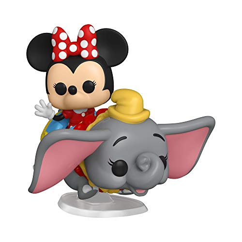 Funko Pop! Ride: Disney 65th – Flyng Dumbo Ride with Minnie, Figura de accion – 6 pulgadas