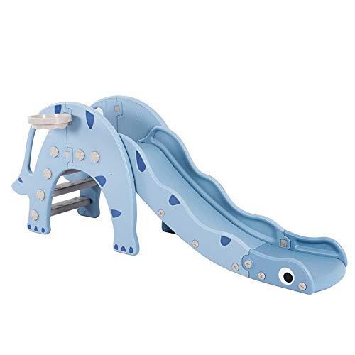 LULUVicky-Toys Kinder Rutsche Spielplatz Hallenbad Kinderspiel Faltbare Familie Slide einfach einzurichten, for Jungen und Mädchen, empfohlen for Kinder im Alter von 1 bis 5