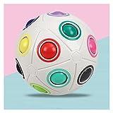 Z-Color Magic Rainbow Ball, Puzzle Ball Cube Brain Teasers Pädagogisches Spielzeug für Kinder &...