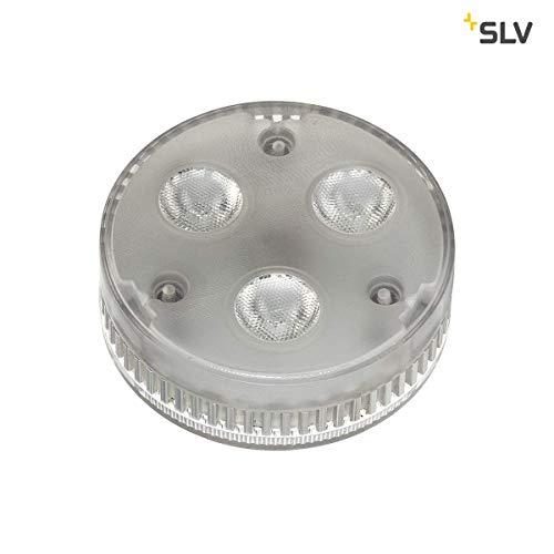 SLV LED-Leuchtmittel, Kunststoff, GX5.3, 5 W, Silbergrau