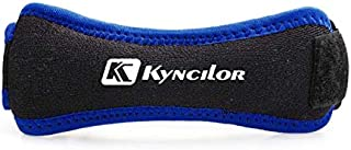 kyncilor Knee Support Patella Strap with Adjustable Knee Band, Brace Stabilizer for Arthritis, Running, Basketball, Meniscus Tear, Sports, Athletic. Best Knee Brace for Hiking, Soccer. (Blue).