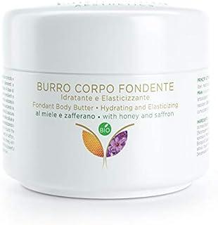 CREMA Burro Corpo, Nutriente e Rassodante Pelle secca e screpolata, a base di Zafferano, Miele,Olio di Canapa - Burro di K...