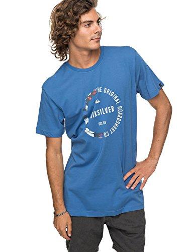 Quiksilver Ssclassirevenge T-Shirt Homme M Bleu de Cobalt Vif (bpc0)