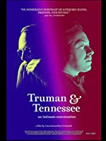 Truman&Tennessee:Intimate Conversation(2021)Movie Poster Canvas Printing Painting Wall Art For Living Room Bedroom Decor-50x75cm No Frame