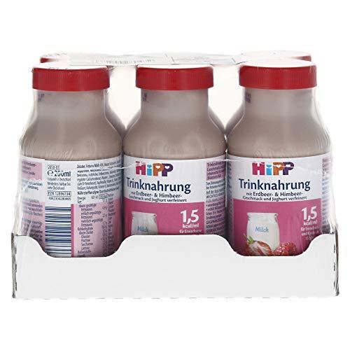 HIPP Trinknahrung Erdbeer/Himbeergeschm.KS.Fl. 1200 ml Flaschen