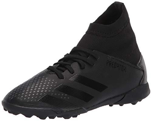 adidas Predator 20.3 TF J, Zapatillas Unisex niños, Core Black Core Black DGH Solid Grey, 11 UK Child