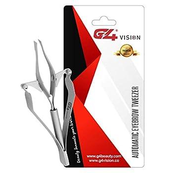 G4 Vision Professional AUTOMATIC EYEBROW TWEEZER Hair Removal Auto Tweezers Tool