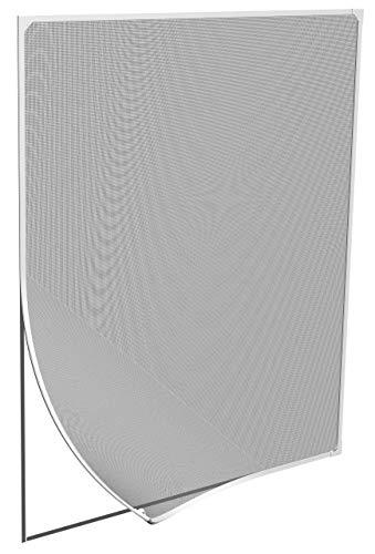 Windhager Ventana magnética para mosquitera, instalación sin Herramientas, Blanca, 100 x 120 cm, 03388