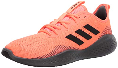 adidas Men's Fluidflow Bounce Regular Fit Running Sneakers Shoes, Signal coral/core Black/Grey Six, 8 M US