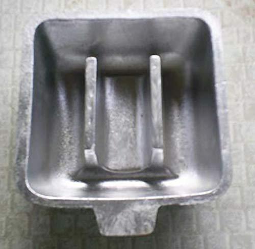 HTD Bleigusform für Standart Tauccherblei 1 kg und 2 kg Stücke zum Selbergiesen